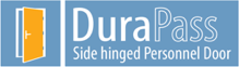 DuraPass Side hinged Personnel Door logo
