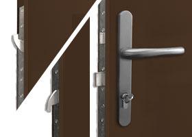3-pin dead bolt locking