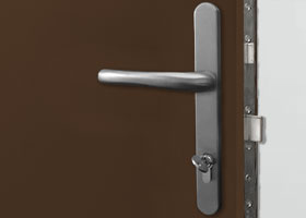 Stainless steel handle & escutcheon